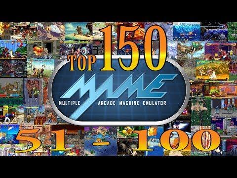 Top 150 MAME Arcade Games (100-51)