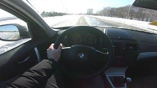 2010 BMW X3 xDrive 20d (177) POV Test Drive