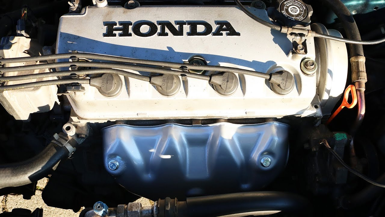 honda civic exhaust manifold heat shield painting