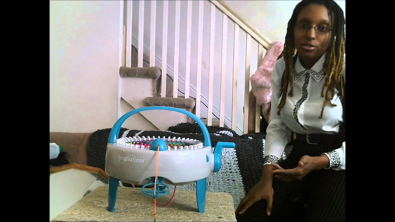 Vlog Innovations Knitting Machine Product Review - YouTube