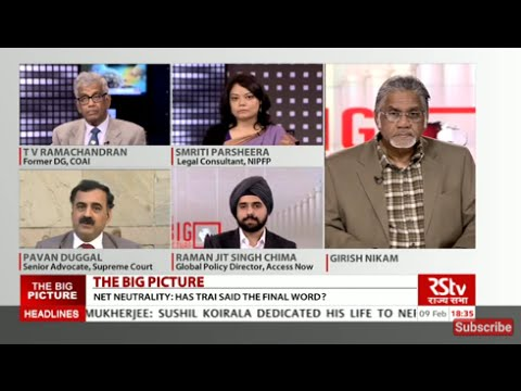 The Big Picture - Net Neutrality: Has TRAI said the final word?