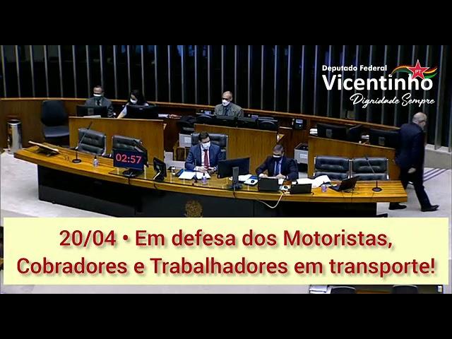 20/04 • Em defesa dos Motoristas, Cobradores e Trabalhadores em transporte