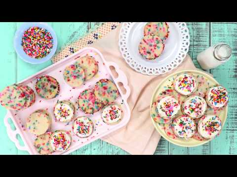 Funfetti Sugar Cookies | Southern Living