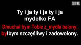 ♫♪♫♪ Disco polo - Mydełko Fa - Zajebiste karaoke