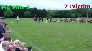 2.Deutsche Jugger-Meisterschaft Lippstadt  Pig Pile vs. Victim Finale 28.06.2015