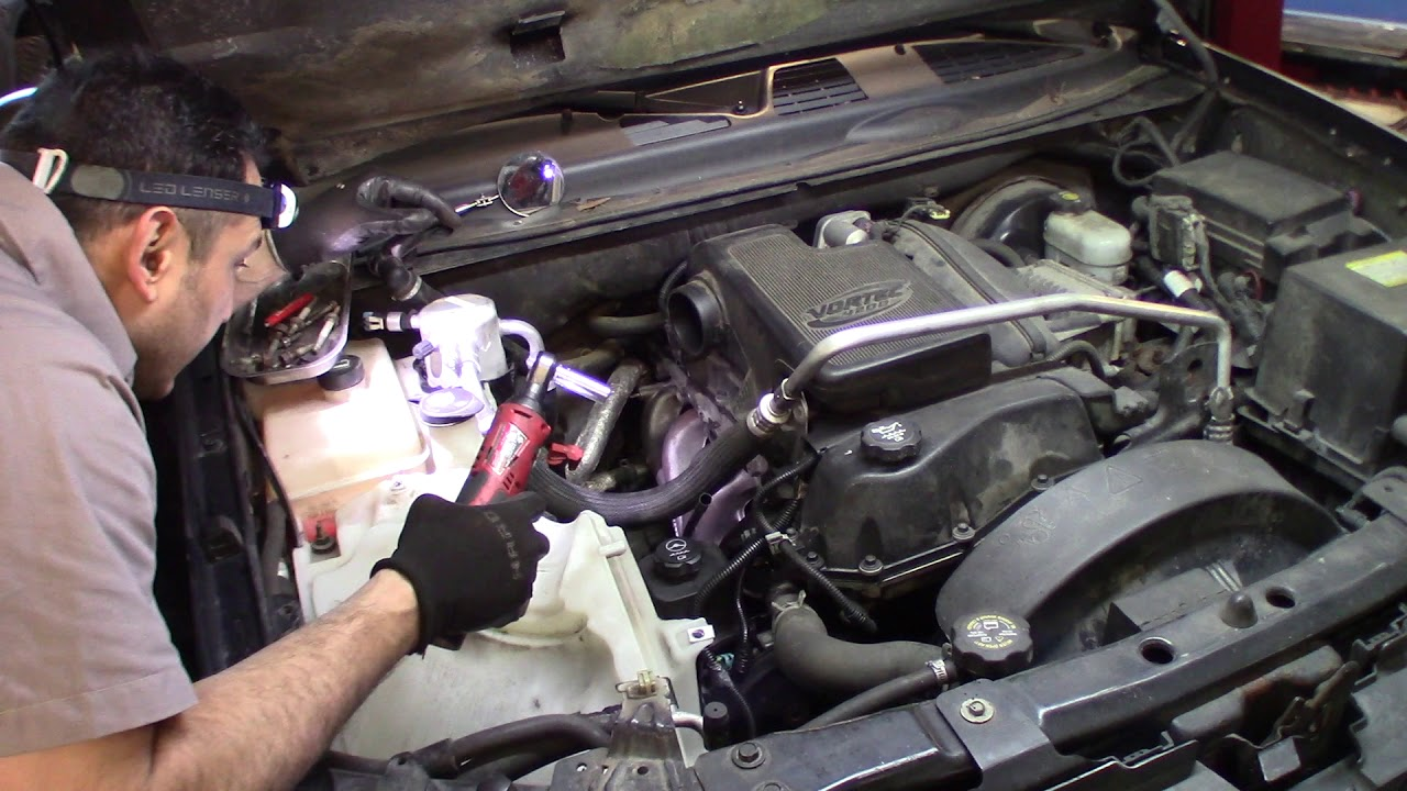 2005 Chevrolet Trailblazer how to install the exhaust ...
