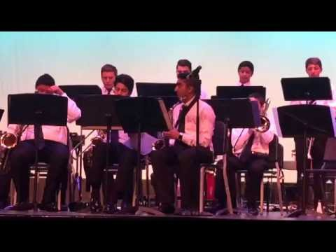 Servite High Schools' 2016 Final Band Cocert - Amar's Solo