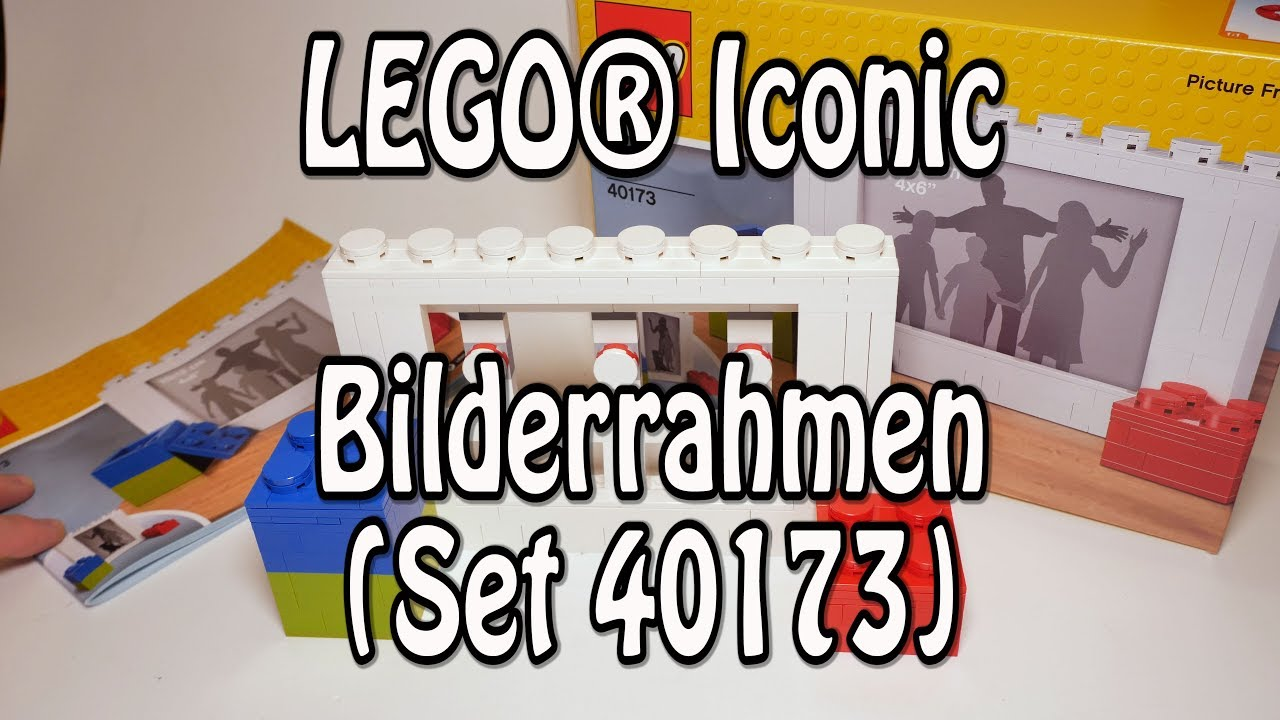Test LEGO Bilderrahmen (Iconic Set 40173 Review deutsch) - YouTube