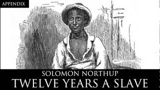 appendix 12 years a slave audiobook by solomon northup