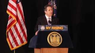 NYS Governor Andrew Cuomo Speaks on Innovation & Tech Transfer at Clarkson University