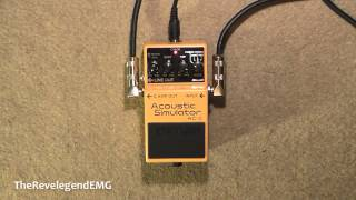 ♫ Boss AC3 Acoustic Simulator Demo ► (HD Audio)