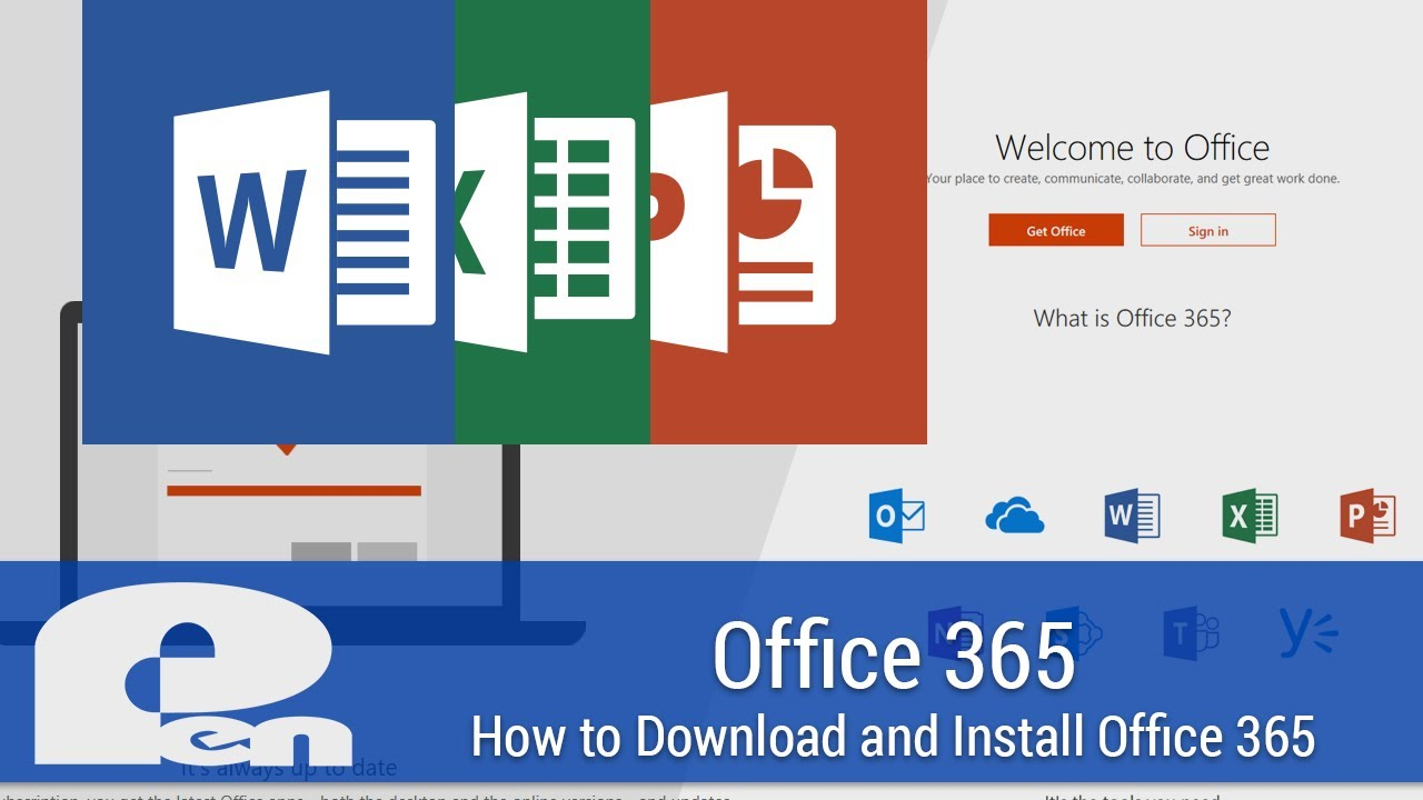 How to Download and Install Office 365 Apps on PC or Mac