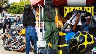Chopper Fest 15 Motorcycle Show | David Mann | Ventura CA