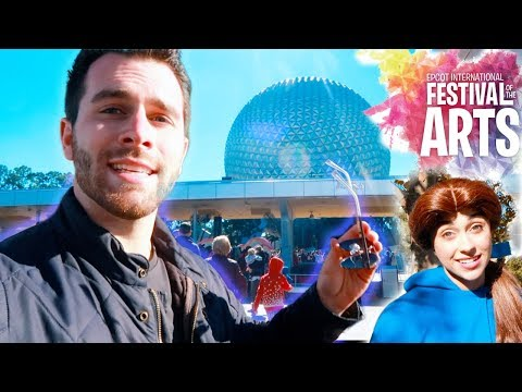 Epcot Festival of the Arts AND Meeting BELLE!