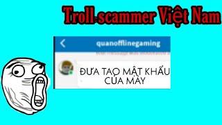 Troll thằng scammer Việt Nam | Roblox
