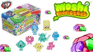Moshi Monsters Rox Collection 2 Limited Edition Tin Toy Review, Vivid