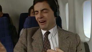 On a Plane | Funny Clip | Classic Mr. Bean