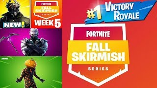 Fortnite *NEW* Fall skirmish and Skins Sanctum, Jack Gourdon, and a amazing victory royale!