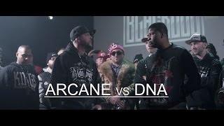 KOTD - Rap Battle - Arcane vs DNA