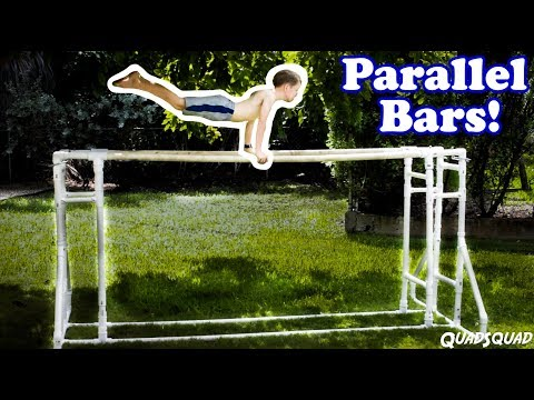 How to Build Parallel Bars at Home – DIY Project