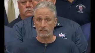 Jon Stewart issues MUST-WATCH response after his bill is passed