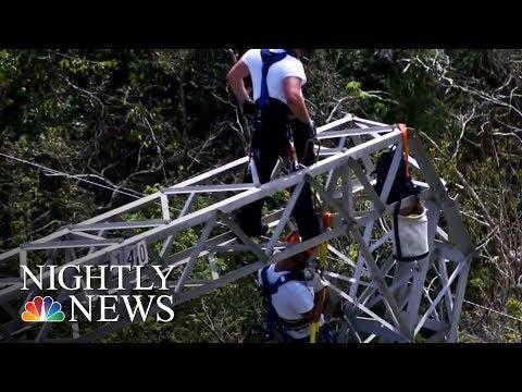 Puerto Rico Power Grid Deal Under Scrutiny | NBC Nightly News