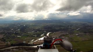 GoPro Nitro FPV 1100m (Over 3600ft) Altitude Through Clouds Got Scared and Came Down Fast!