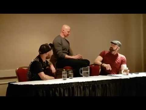 Derek Mears crashing Tyler Mane's panel @ Calgary Horror Con