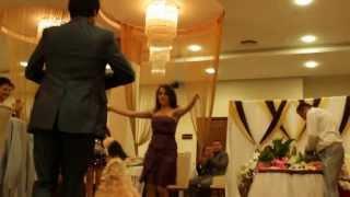 Горский танец на свадьбе, моего друга дочки.