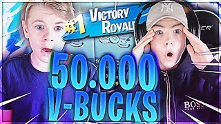 DREAMZ GETS * 50.000 V-BUCKS * IF HE WINS A FORTNITE GAME!!!