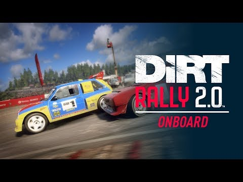 The MG Metro 6R4 Rallycross heads to Hell - Onboard - DiRT Rally 2.0