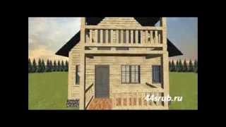 Дом из бруса 6х7, проект