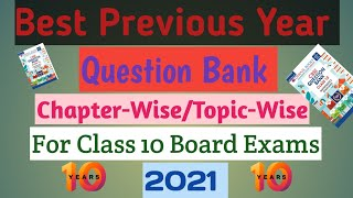 Best Previous Year Question Bank for CBSE Class 10|| Board Exams