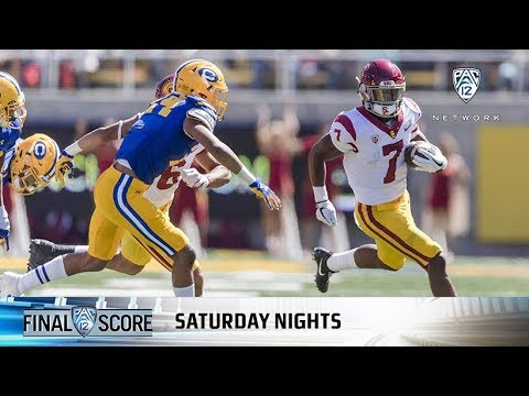 Highlights: No. 4 USC football remains undefeated with close win over Cal