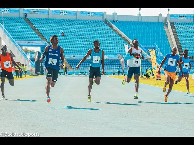 Men 100m Promotional Heat 1