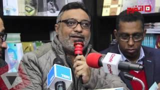 عبد الرحيم كمال يحتفل بتوقيع كتابه الجديد «ظل ممدود» (اتفرج)