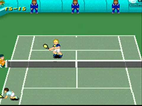 SNESOT Super Tennis Online Tour - Archmedy vs Rodaumm - US Open 2011 Final Part 1/2