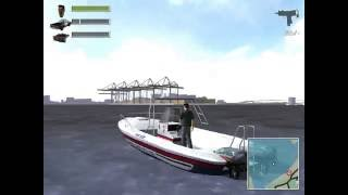 Driv3r - Cop boats in Take a Ride mod demonstration