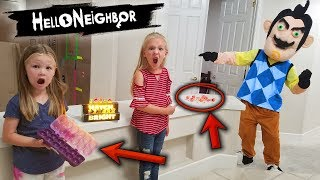 Hello Neighbor in Real Life! Hatch Bright Hatchimals Colleggtibles Toy Scavenger Hunt!!