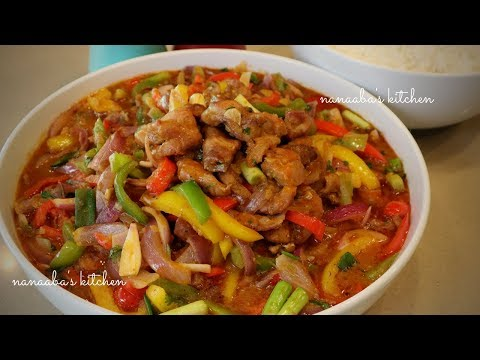 How To Make The Best CHICKEN And VEGETABLES Stir Fry Sauce I Nanaaba's Kitchen