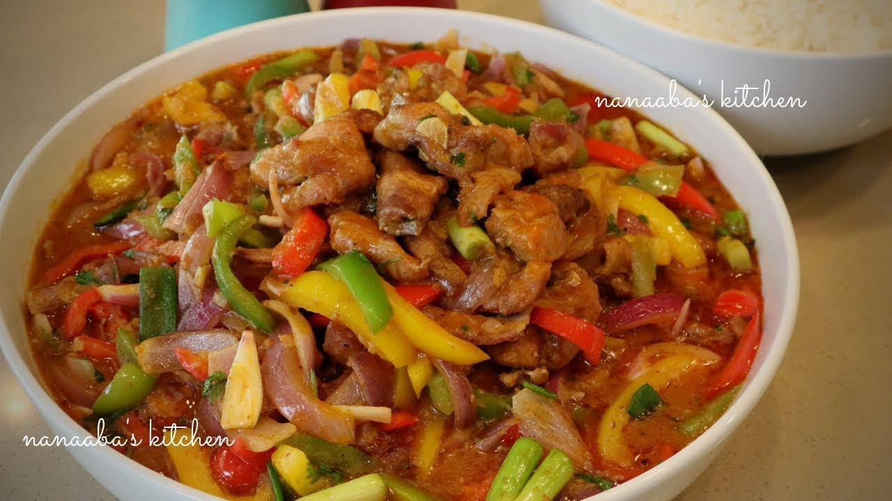 Download How to make the best CHICKEN and VEGETABLES Stir Fry Sauce I Nanaaba's kitchen