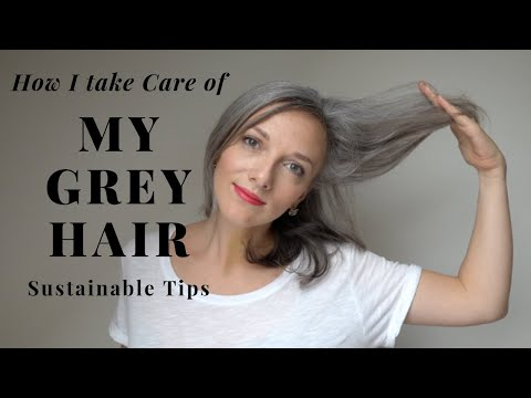 how-i-take-care-of-my-grey/gray-hair-||-2019-||-cool-sustainable