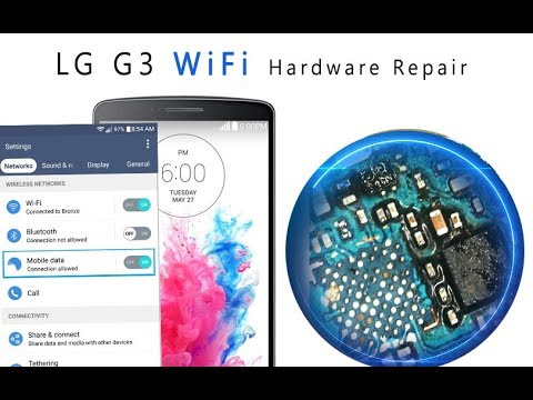 How to fix WiFi and Bluetooth connection in a LG G3 - iFixit