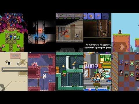 10 retro / retro style / pixel ANDROID GAME #1