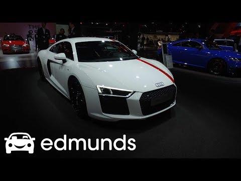 2018 Audi R8 V10 RWS Frankfurt Auto Show Debut | Edmunds