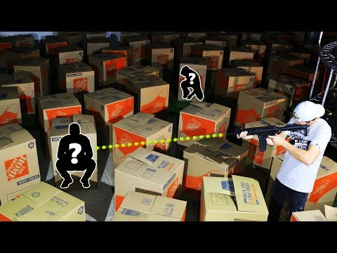 Hide and Seek in the DARK!! (100+ MYSTERY BOXES)