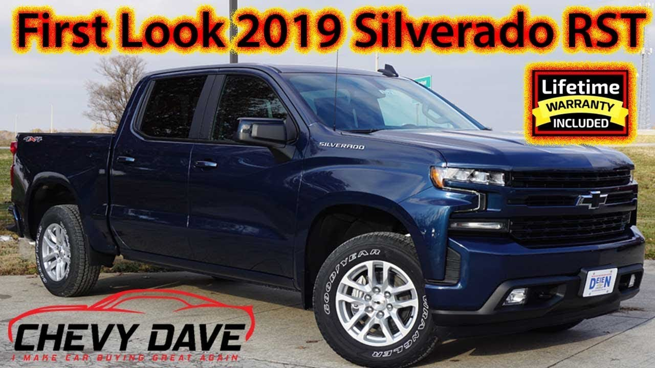 First Look at the All New 2019 Chevrolet Silverado RST ...
