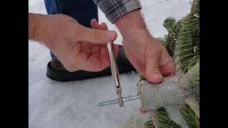 Christmas Tree Surgery! Tall & Sparse To Short & Bushy!