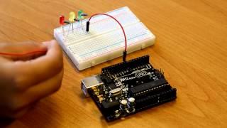 Arduino для детей - Светофор за 5 минут!
