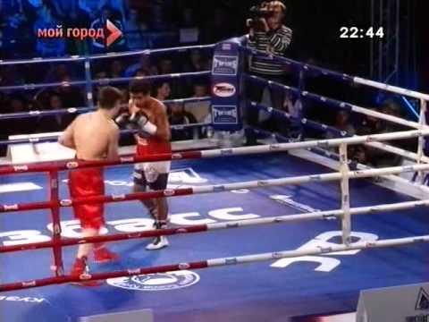 Vyacheslav Gusev vs. Feliciano Dario Azuaga Ledesma - vacant WBO European featherweight title